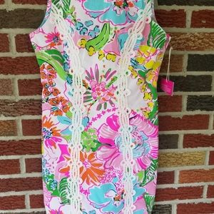 """LILLY Pulitzer for Target NWT """"Nosey Posie"""" Sz 6"""
